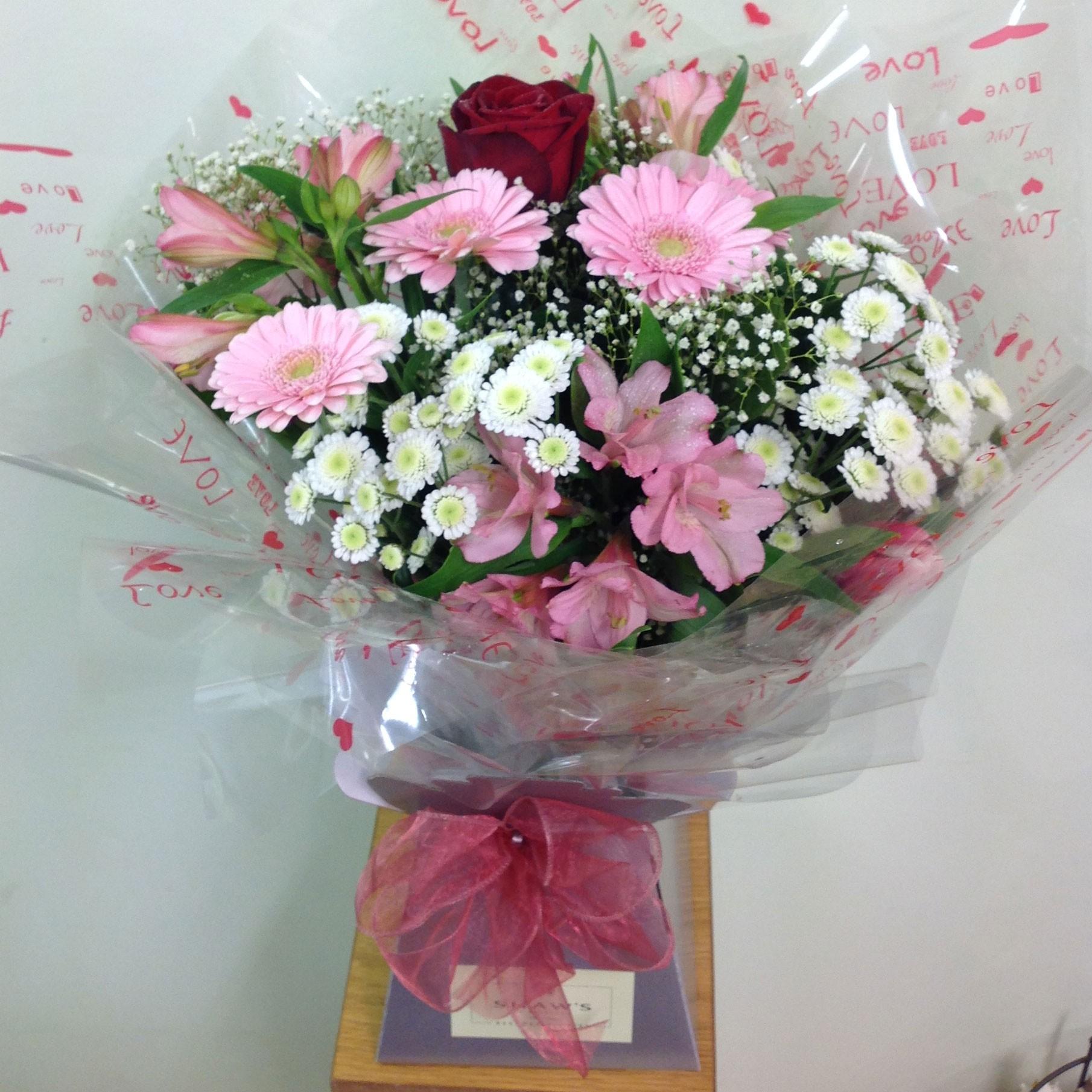 Mixed Valentines Pinks