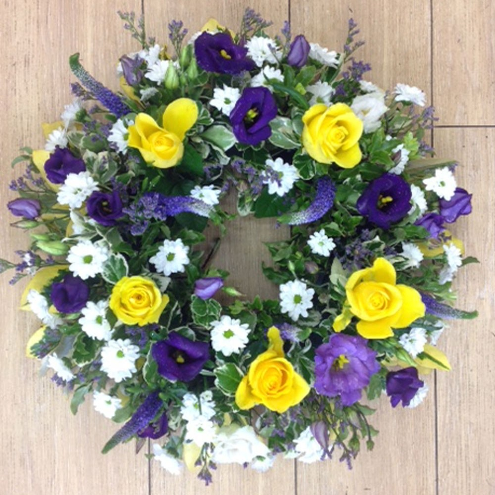 Loose Wreath Purple