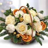 Festive Christmas Wish Basket