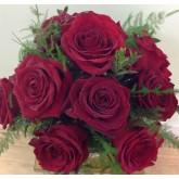 12 Rose Table Arrangement